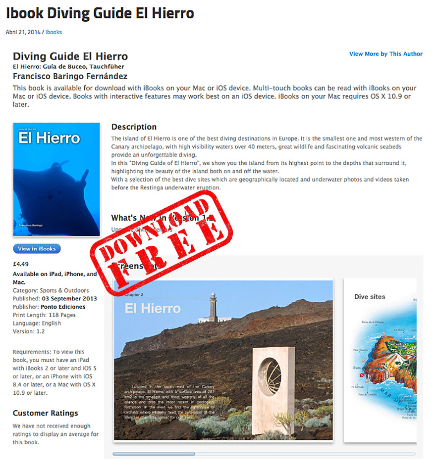 Diving Guide Hierro